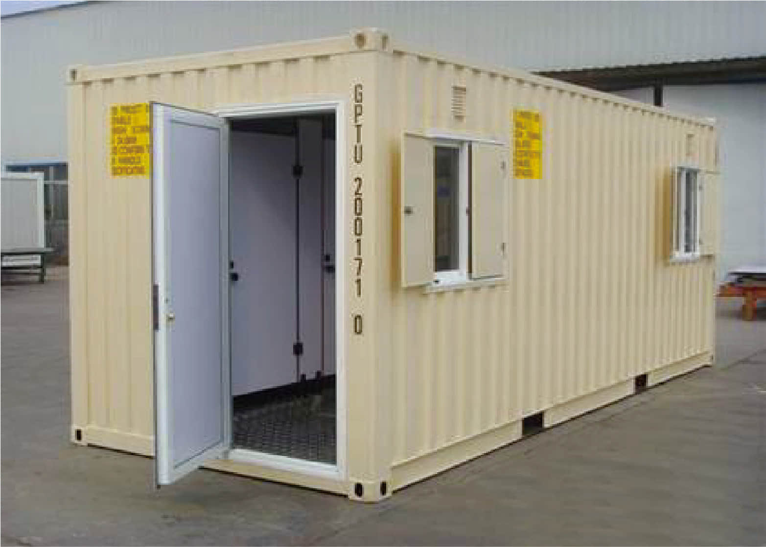 Lavatory Container outlook