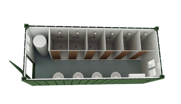Lavatory Container