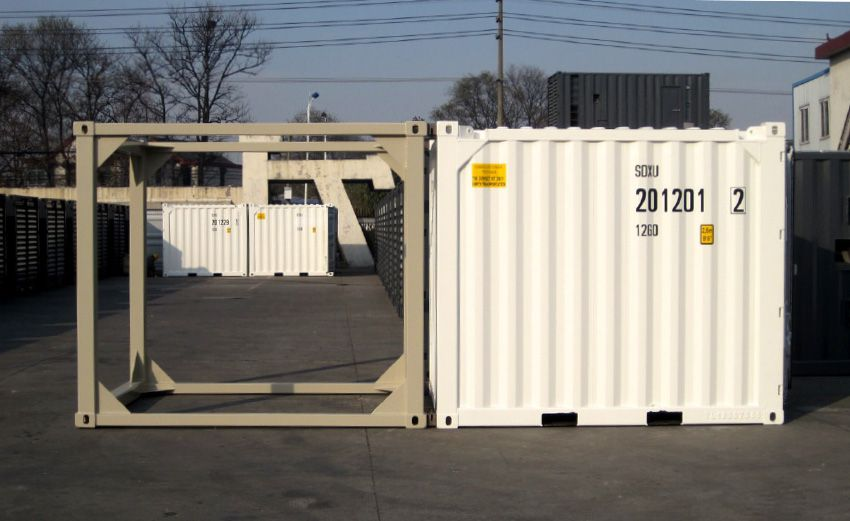 10' offshore container combined with 10' frame