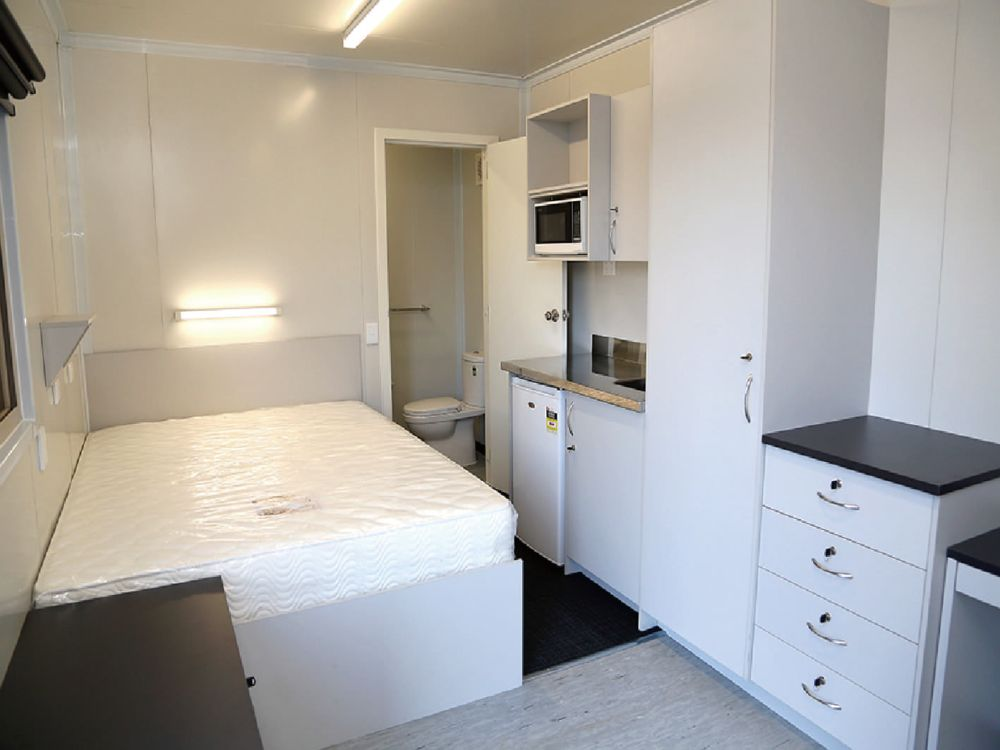 40' Accommodation container – bedroom