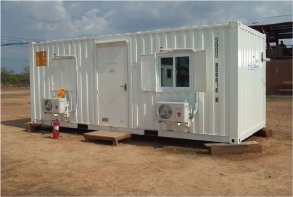 20' accommodation container