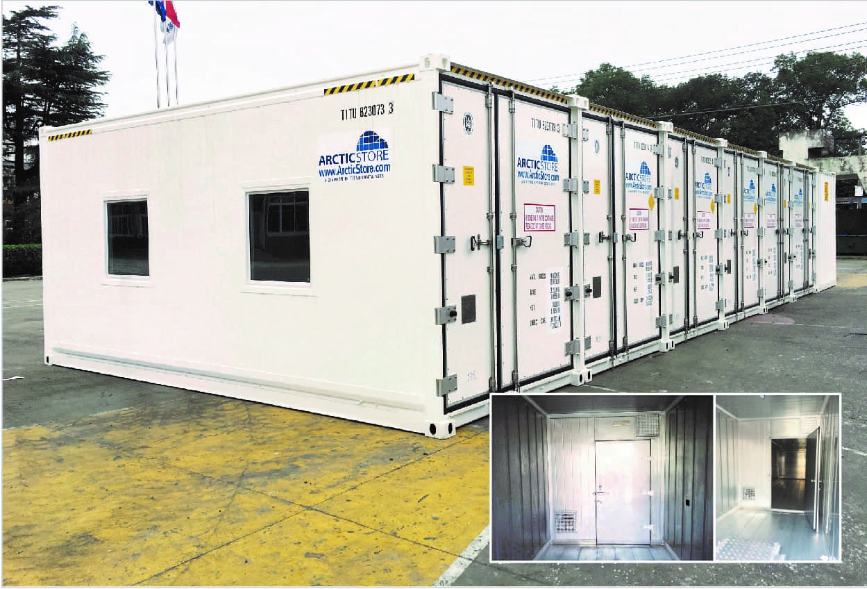 container cold storage