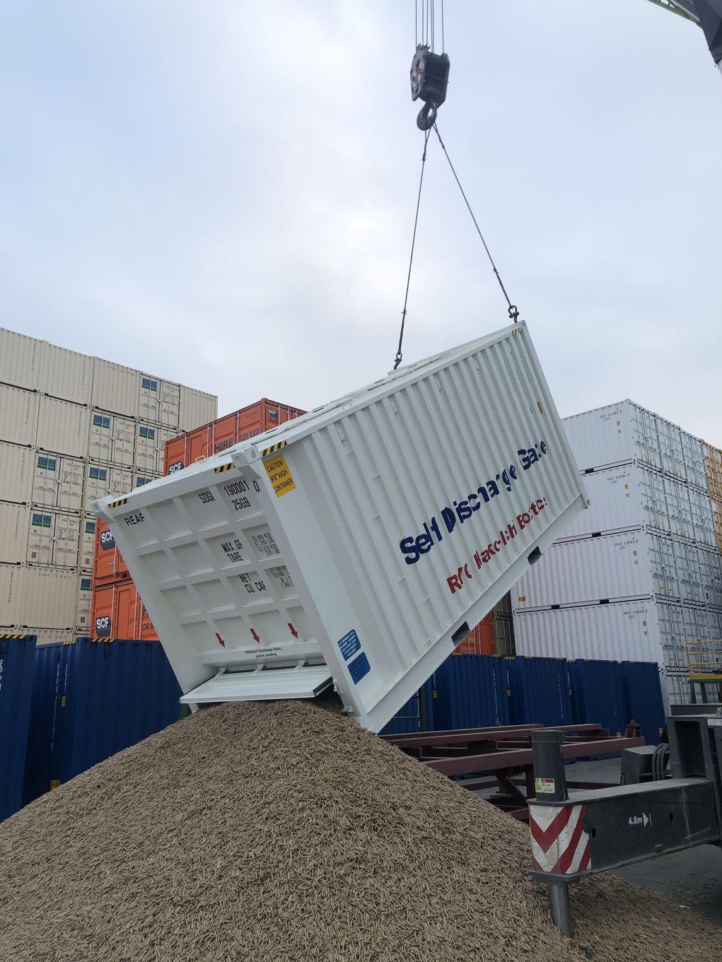 Bulk Container unloading