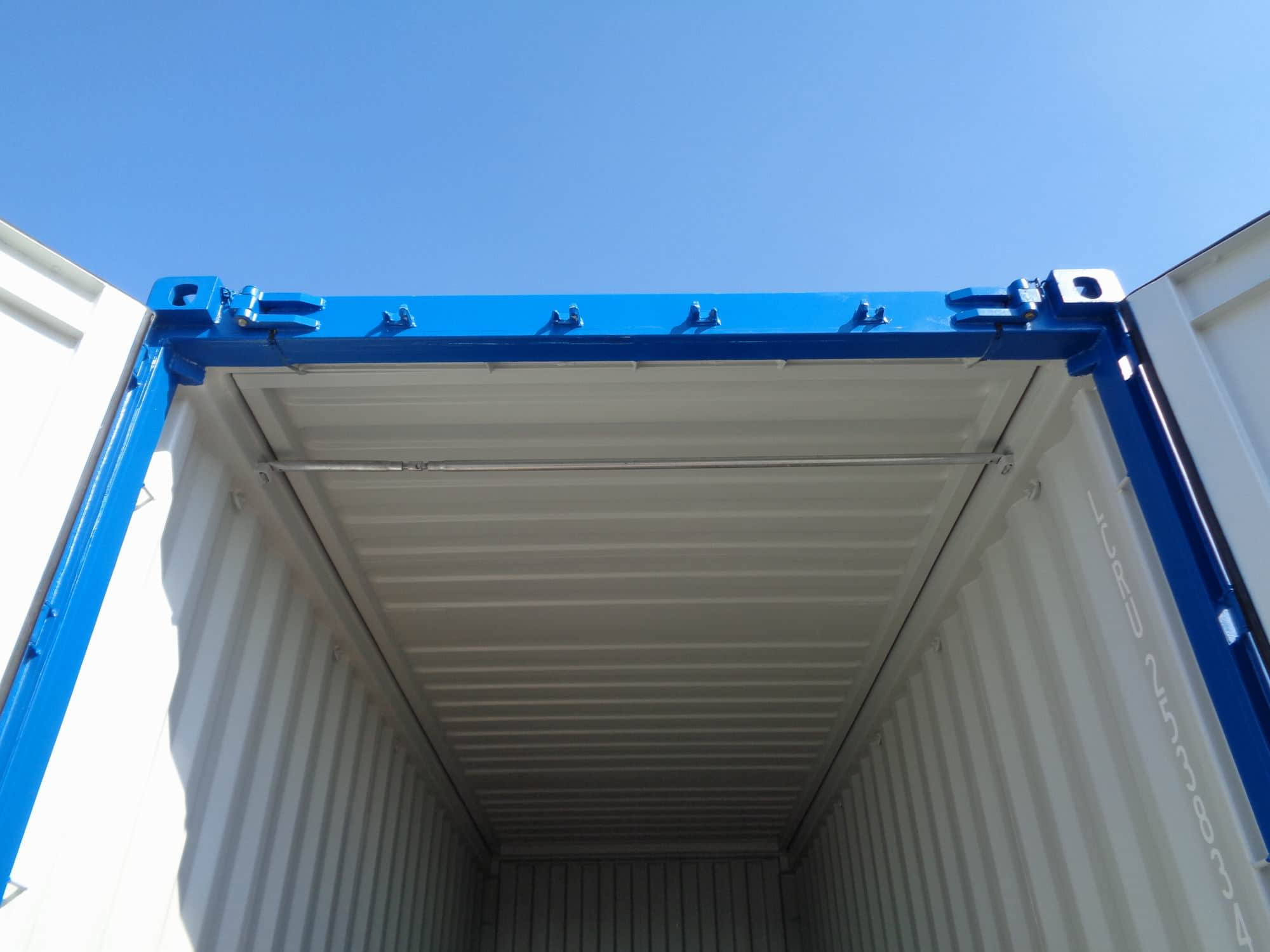 20' hard open top container – internal review
