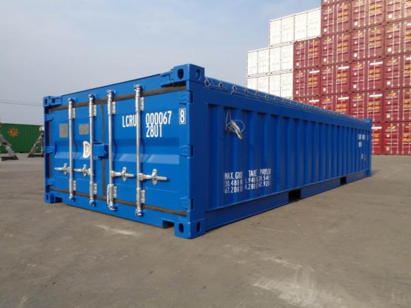 20' Half Height Hard Open Top Container outlook