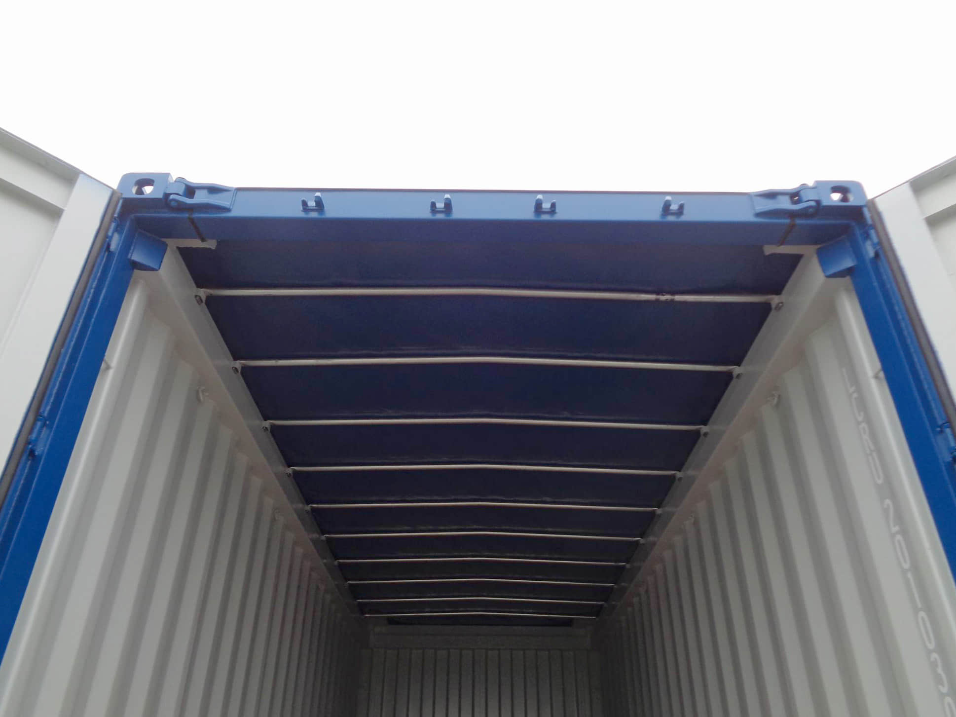 20' soft open top container – internal review
