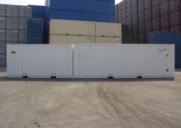Duocon container – 16'&24' combination side view