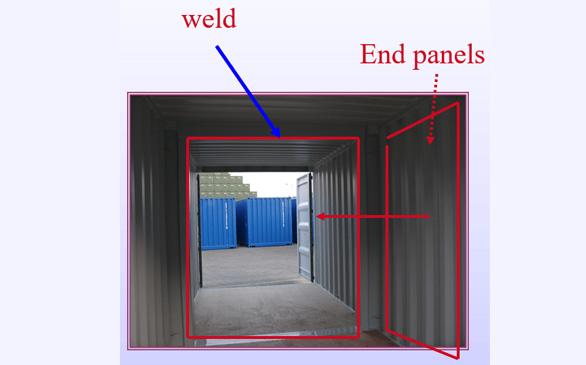 duocon container – 10' combination internal