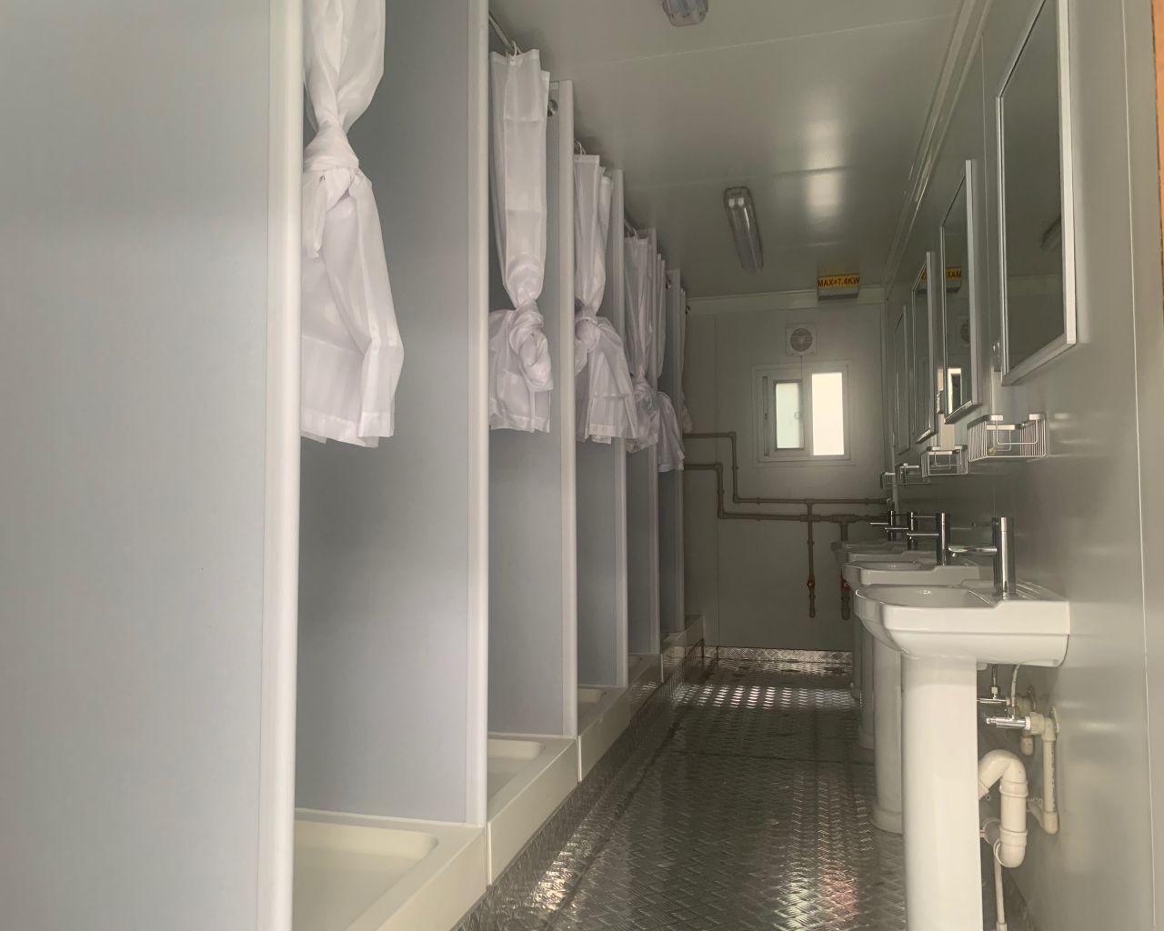 Flatpack bathroom