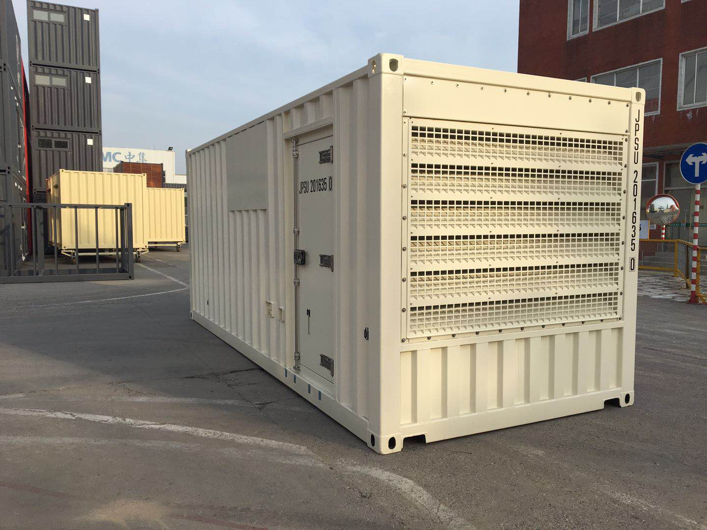Generator container overview
