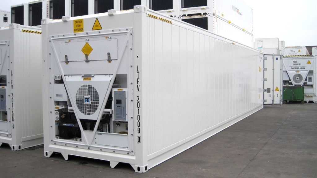 reefer sea container detail