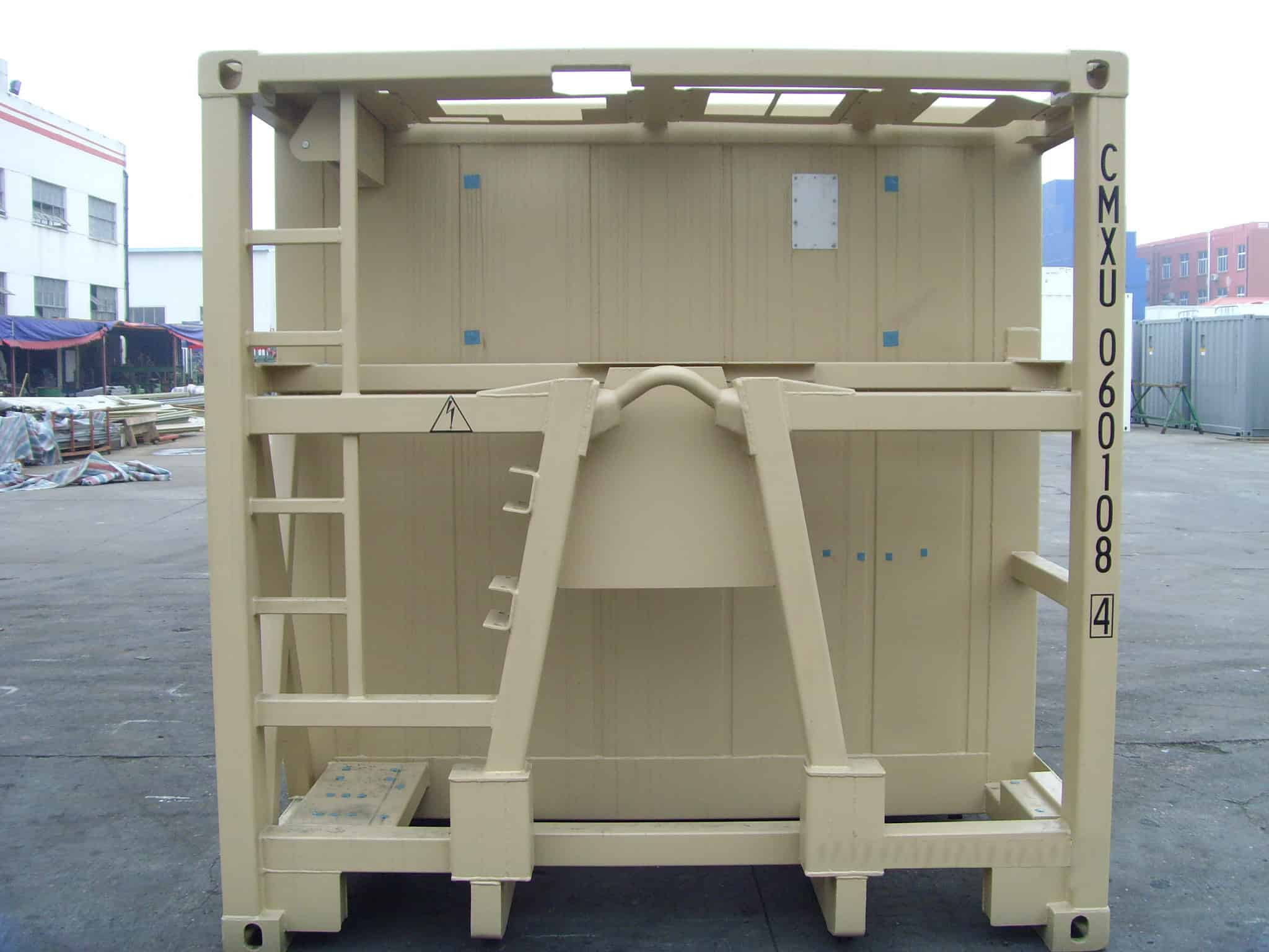 military container a frame design