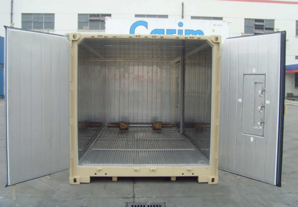 military container display