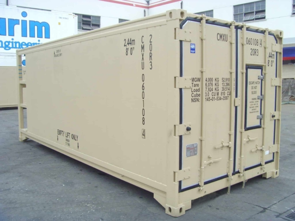 military container outlook