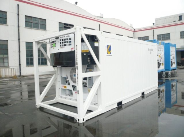 offshore container display