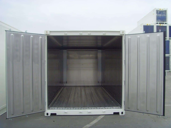 refrigerated sea container overlook
