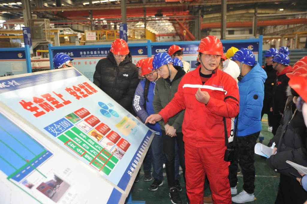 CIMC Yangzhou Base safety training 2