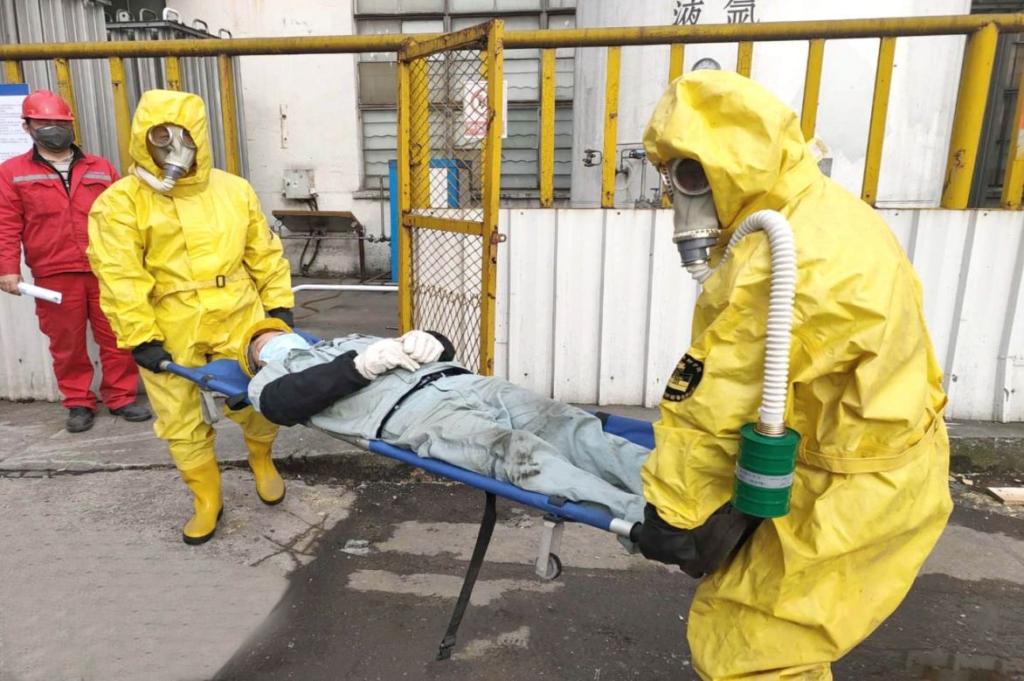 CIMC Yangzhou Base safety training 3