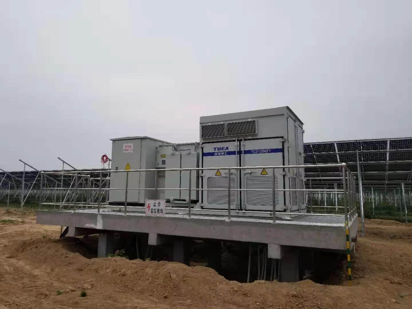 Solar container application