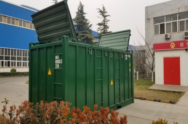 waste sea container outlook