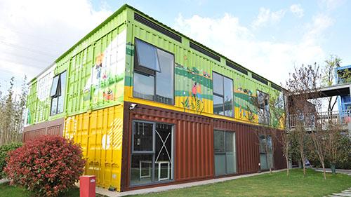 Modular Building culture tourism series