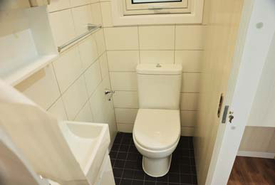 Tiny home – bathroom