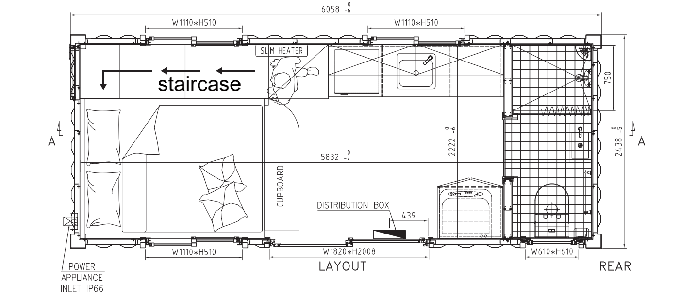 tiny home dimensions
