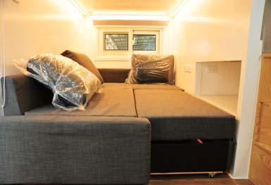 Tiny home – living room